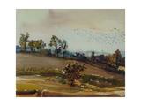 Autumn Mood, 1980 Giclee Print by Brenda Brin Booker
