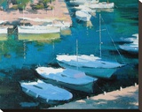 Marina 16 Stretched Canvas Print by Alex Krioutchkov