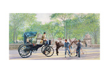 Horse and Carriage, 1994 Giclee Print by Anthony Butera
