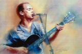 Dave Matthews Band Jamming Music Poster Posters