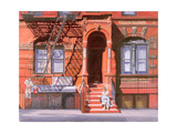 Sunday Afternoon, East 7th Street, Lower East Side, NYC, 2006 Giclee Print by Anthony Butera