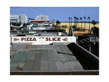 Pizza by the Slice, 2002 Giclee Print by Peter Wilson