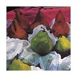 Pears, 2002 Giclee Print by Pedro Diego Alvarado