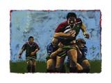 Rugby, 2009 Giclee-trykk av Sara Hayward