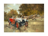 Ghost and Spitfire Giclee Print by Peter Miller