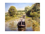 Napton Top Lock, 2008 Giclee Print by Kevin Parrish