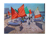 Red Sails, Royan, France Giclee Print by Andrew Macara