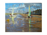 Reflection, Bray Dunes, France Giclee Print by Andrew Macara