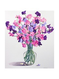 Sweetpeas, 2007 Giclee Print by Christopher Ryland