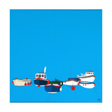 Moorings Giclee Print by Tom Holland