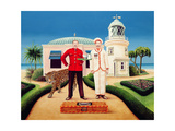 The Cook and Waiter, 1996 Giclee Print by Anthony Southcombe