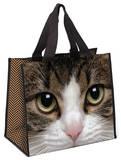Tabby Cat Shopper Tote Bag