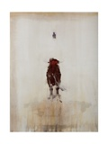 Bull Giclee Print by Daniel Cacouault