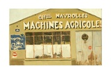 Machines Agricoles, 2005 Giclee Print by Delphine D. Garcia