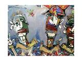 Kraftwork, 2006 Giclee Print by Anthony Breslin