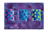 3 Mugs, 2004 Giclee Print by Julie Nicholls
