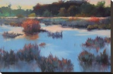 Ace Basin Creek Stretched Canvas Print by Madeline Dukes