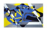 Motorbike 1 Giclee Print by Olivia Davis