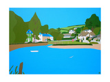 Batsons Creek Giclee Print by Tom Holland