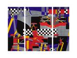 2 F1 Giclee Print by Olivia Davis