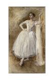 Lydia Lopokova Giclee Print by Augustus Edwin John