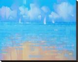 Playa 16 Stretched Canvas Print by Alex Krioutchkov