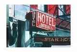 Star Hotel Giclee Print by Anthony Butera