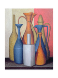 Composition of Vessels, Varying Tones Giclee Print by Brian Irving