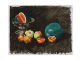 Pomegranates and Water-Melons, C.1995 Giclee Print by Alexander Goudie