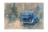 Phantom in Piccadilly (Detail) Giclee Print by Peter Miller