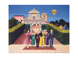 Wedding in Florence, 1972 Giclee Print by Anthony Southcombe