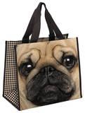 Pug Shopper Tote Bag