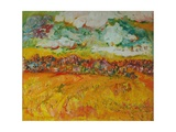 The Farmland Giclee Print by Brenda Brin Booker
