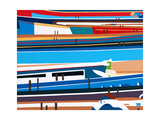Pilot Gigs Giclee Print by Tom Holland