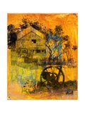 Shearing Shed Giclee Print by Margaret Coxall