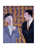 No Tie!, 1978 Giclee Print by Peter Wilson