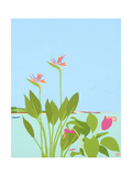 Paradise Giclee Print by Tom Holland