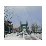 Hammersmith Bridge, Noon, 2007 Giclee Print by Georgia Peskett