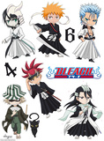 Bleach - SD Characters Veggoverføringsbilde