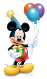 Mickey Mouse Party- 2013 Lifesize Standup Silhouette en carton