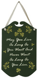 May You Live As Long As You Want And Never Want As Long As You Live Wood Sign Wood Sign