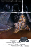 Star Wars A New Hope Movie Poster Prints
