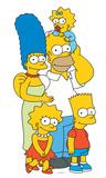 Simpsons Family Lifesize Standup Silhouettes découpées en carton