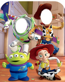 Toy Story Stand-In Lifesize Standup Silhouettes découpées en carton