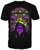 Notorious B.I.G. - Crown Stained Glass T-shirts