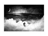 Lost In The World Giclee-tryk i høj kvalitet af Alex Cherry