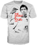 Scarface - The World is Yours T-Shirts