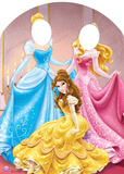 Disney Princess Stand-In Lifesize Standup Silhouettes découpées en carton