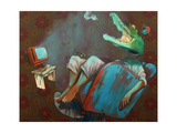 High and Lazy Premium Giclee Print by  Bezt