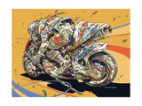 Self Acceleration Premium Giclee Print by  HR-FM
